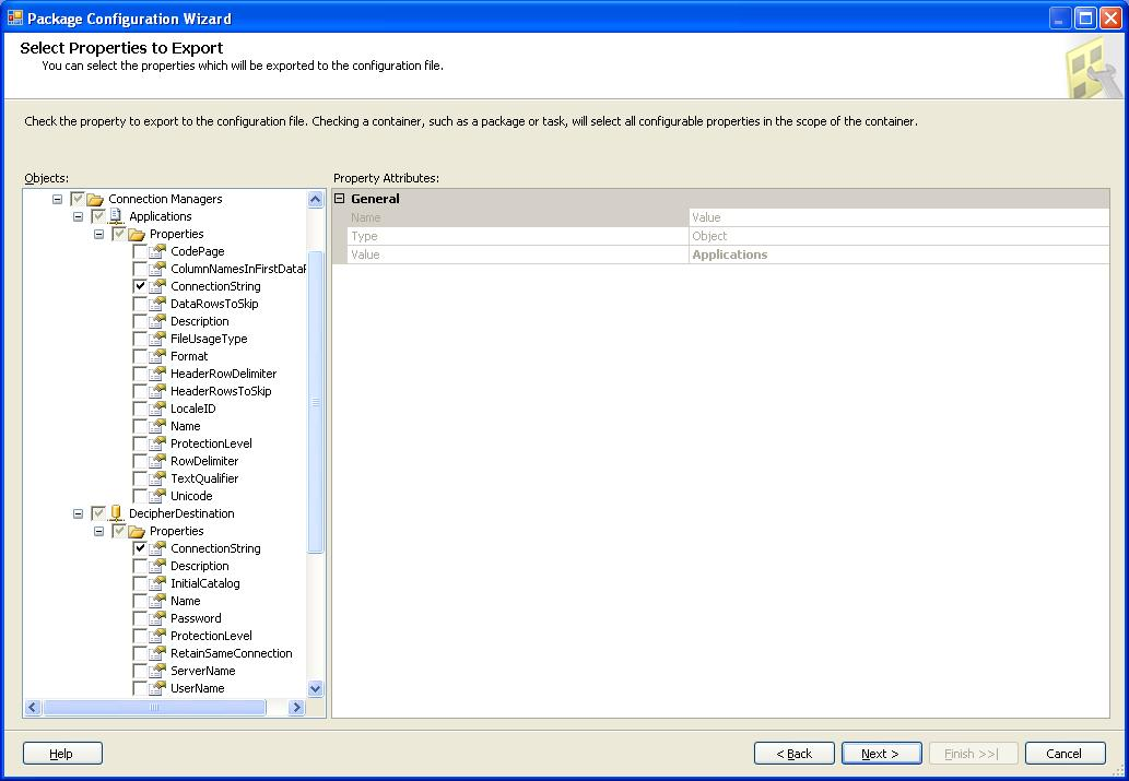 SSIS: Creating Package Configurations « Systems Engineering