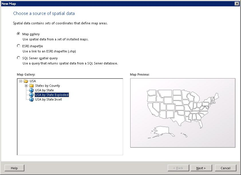 SQL Server R New Featuresenhancements In SSRS Systems - Ssrs us map